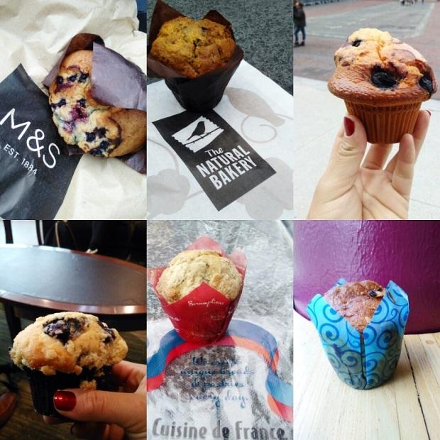 Blueberry Muffin Smaaktest Taste test