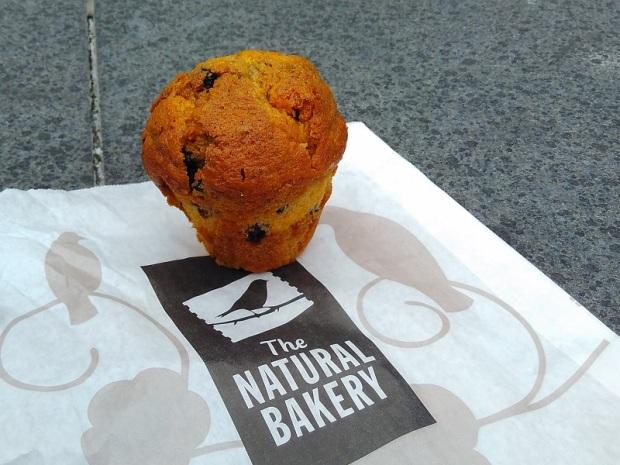 Blueberry Muffin The Natural Bakery, Mayor Str. Lower, Dublin